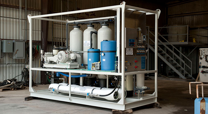 We Offer Water Treatment Equipment Rentals